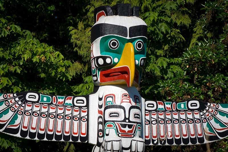 Totem Pole - Canadian National Symbol