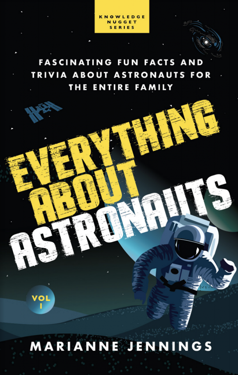 Everything About Astronauts Volume 1 Book cover